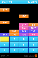 Screenshot of Kids Math Game Lite