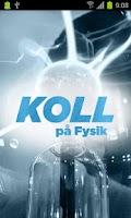 Screenshot of Koll på Fysik