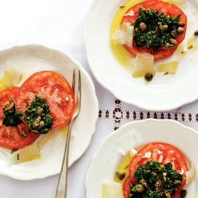 Caprese Met Peterseliepesto