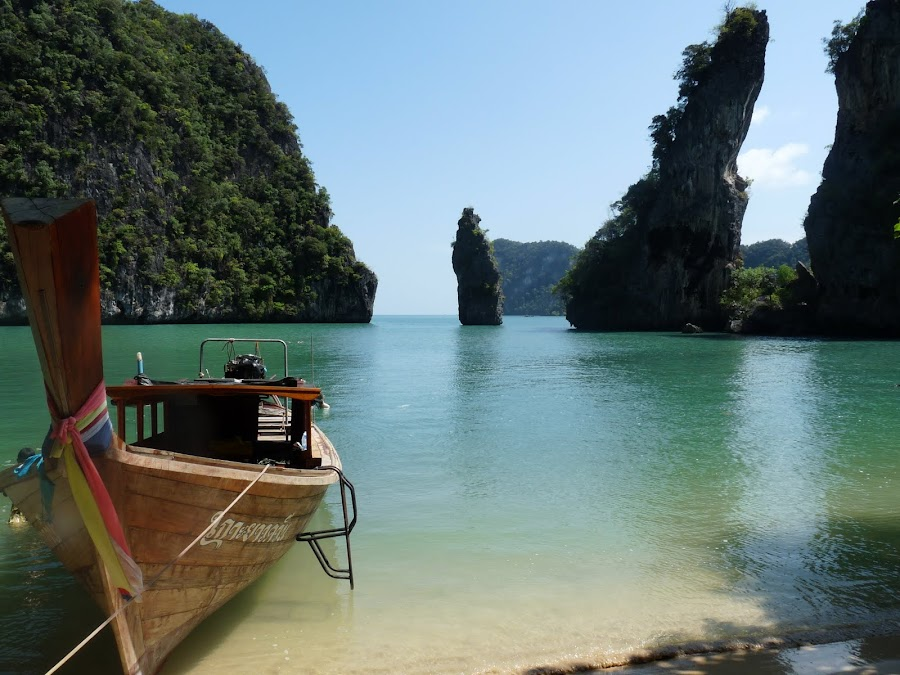 Beach, Thailand #2 by George Zachary - Landscapes Travel