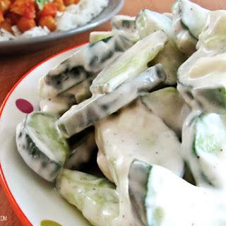 Creamy Cucumber Salad Red Wine Vinegar Recipes