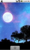 Screenshot of Nightfall Live Wallpaper