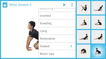Screenshot of Seated Poses for Beginners