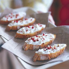 Goat Cheese and Shallot Toasts