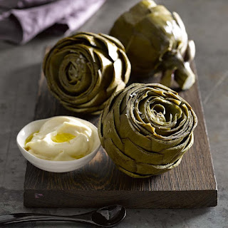 Pressure-Cooked Artichokes with Lemon Aioli