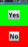 Screenshot of Yes/No