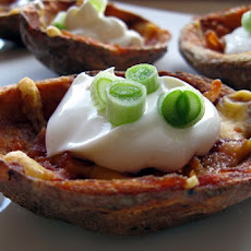 Spicy Buffalo Potato Skins
