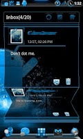 Screenshot of GOWidget Theme SteelBlue-Free