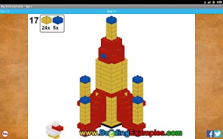 Screenshot of Big brick examples - Age 5
