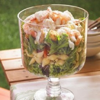 Caesar Shrimp Salad
