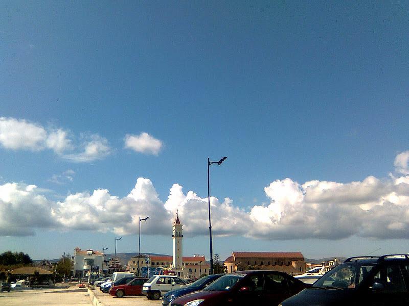 clouds over Zakynthos
