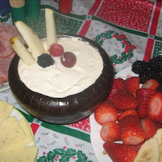 Easy Cheesy Fruit Dip