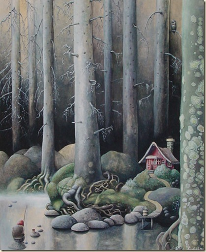 Deep in the forest Peter Lindahl