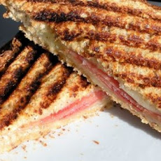 Grilled Ham and Three-Cheese Sandwiches