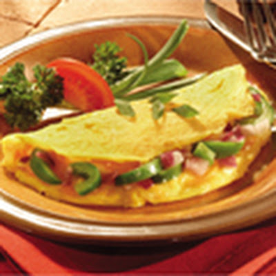 Cheesy Western Omelets