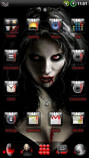 Vampire GO Launcher EX Theme