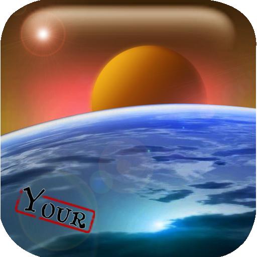 悠悠壁纸之宇宙行星 LOGO-APP點子