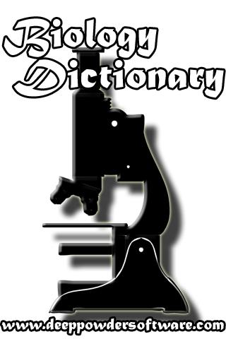 Biology Dictionary Glossary