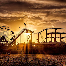 My Favorite Beach by Kelley Ahr - City,  Street & Park  Amusement Parks ( la, march 2014,  )