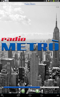 Screenshot of Radio Metrò