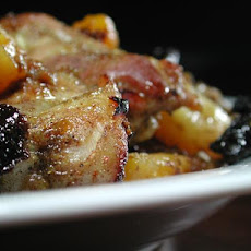 Spicy Moroccan Chicken With Apricots and Prunes (Low Fat)