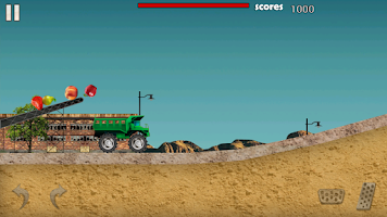Screenshot of a FarmTruck: Truck Race a a a