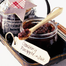 Cranberry, Pineapple & Date Chutney