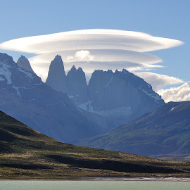 Torres Del Paine by Anusha Rao - Landscapes Cloud Formations ( clouds, torres del paine, mountain )
