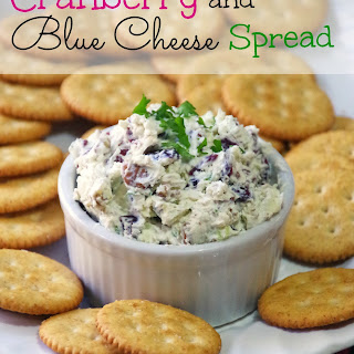 Cranberry and Blue Cheese Spread