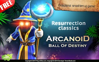 Screenshot of Arcanoid - Brick Ball Arkanoid