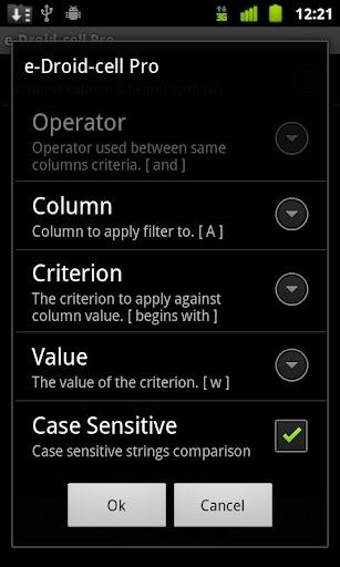 玩商業App|e-Droid-Cell Pro 電子表格免費|APP試玩