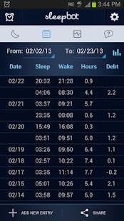 SleepBot - Sleep Cycle Alarm APK for Bluestacks