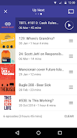 Screenshot of Pocket Casts