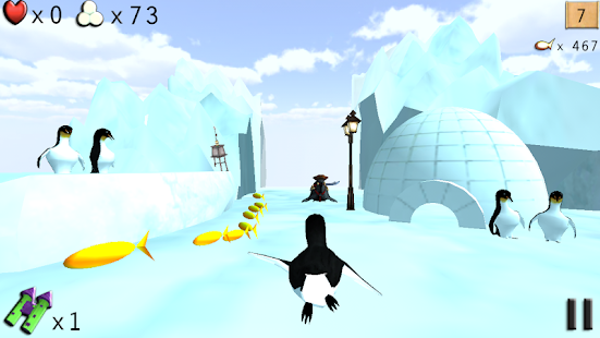 Pengi Free (with ads) - screenshot