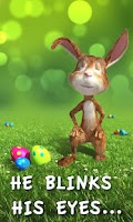 Screenshot of Easter Bunny Live Wallpaper