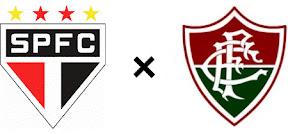 São Paulo x Fluminense - 50% de cada lado
