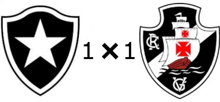 Botafogo 1x1 Vasco