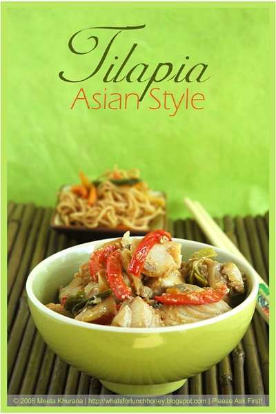 Asian Style Tilapia (01) by MeetaK