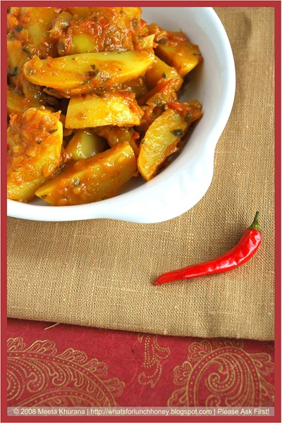 Achaari Aloo (02) by MeetaK