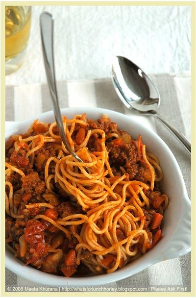 SpaghettiBolognese 05 framed