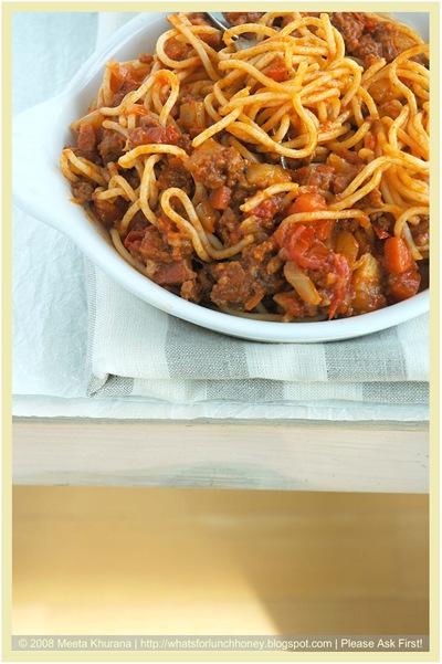 SpaghettiBolognese 03 framed