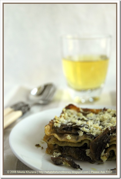 Lasagne Mushroom Pesto (01a) by MeetaK