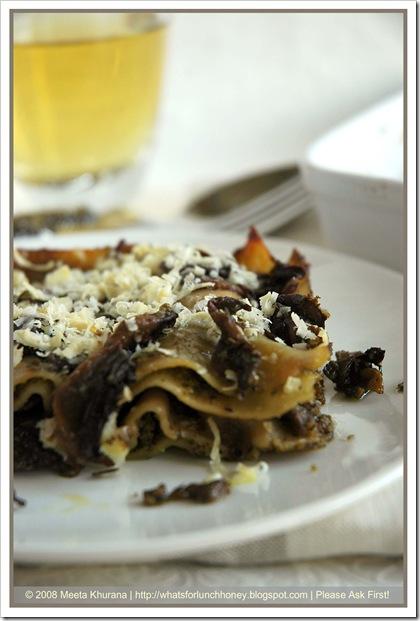 Lasagne Mushroom Pesto (02) by MeetaK
