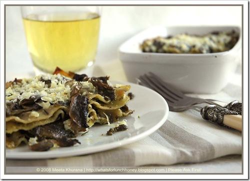 Lasagne Mushroom Pesto (04) by MeetaK