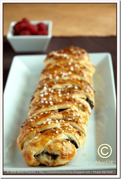 Chocolate Raspberry Danish Braid (01) by MeetaK