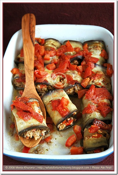 Aubergine Rolls-Dolma (06) by MeetaK