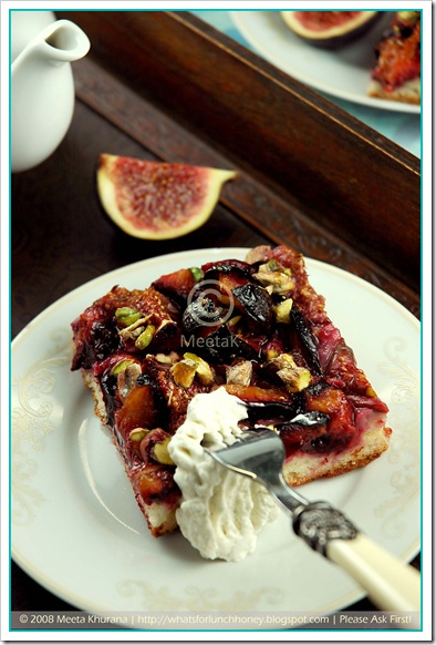 Plum Fig Cake (04) by MeetaK