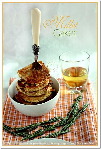 Millet Veggie Cakes (02) by MeetaK