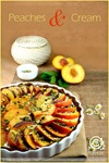 Peach Goats Cheese Tart 01 framed