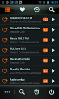Screenshot of Guatemala Radio